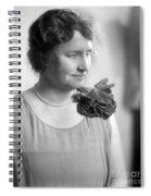 Helen Adams Keller Spiral Notebook