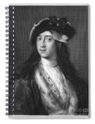 Horace Walpole (1717-1797) Spiral Notebook