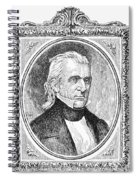 James K. Polk (1795-1849) Spiral Notebook