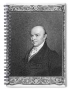 John Quincy Adams Spiral Notebook