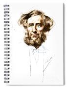 John Tyndall, Irish Physicist Spiral Notebook
