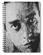 Johnny Cash Spiral Notebook