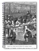 Kansas: Black Exodus, 1879 Spiral Notebook