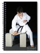 Karate Spiral Notebook
