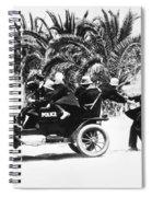 Keystone Kops Spiral Notebook