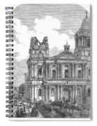 Manila: Earthquake, 1863 Spiral Notebook