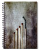 Matches Spiral Notebook
