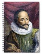 Miguel De Cervantes Spiral Notebook