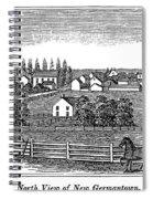 New Jersey, 1844 Spiral Notebook