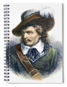 Oliver Cromwell (1599-1658) Spiral Notebook