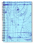 Omega-minus Particle, First Observation Spiral Notebook