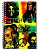4 One Love Spiral Notebook
