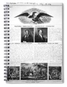 Presidential Campaign 1840 Spiral Notebook
