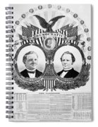 Presidential Campaign, 1876 Spiral Notebook