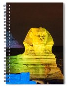 Pyramids Of Giza Spiral Notebook
