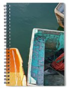 4 Row Boats Spiral Notebook