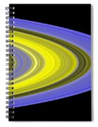Saturns Rings Spiral Notebook