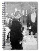 Silent Film: Restaurant Spiral Notebook