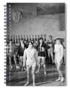 Silent Still: Exercise Spiral Notebook