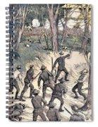 Spanish-american War, 1898 Spiral Notebook