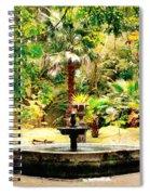 Terra Nostra Park Spiral Notebook
