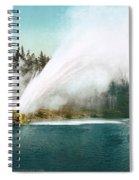 Yellowstone Park: Geyser Spiral Notebook