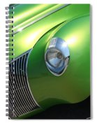 40 Ford - Front Driver Angle-8665 Spiral Notebook