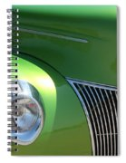 40 Ford - Front Pass Angle-8651 Spiral Notebook