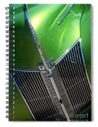 40 Ford - Grill Detail-8618 Spiral Notebook