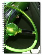 40 Ford - Interior-8586 Spiral Notebook