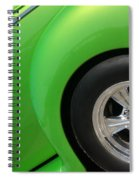 40 Ford-driver Rear Wheel-8581 Spiral Notebook