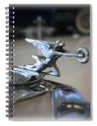 41 Packard Hood Ornament Spiral Notebook