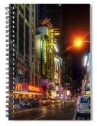 42nd Street Nyc 3.0 Spiral Notebook