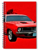 440 Charger Spiral Notebook