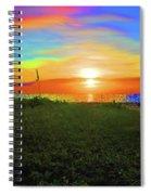 49- Electric Sunrise Spiral Notebook