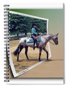 4h Horse Competition Spiral Notebook