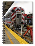 4th And King St. Caltrains Station - San Francisco Spiral Notebook