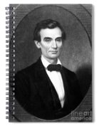 Abraham Lincoln (1809-1865) Spiral Notebook
