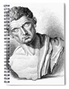 Aristotle, Ancient Greek Philosopher Spiral Notebook