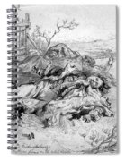 Battle Of Fredericksburg Spiral Notebook