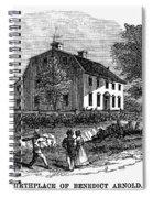 Benedict Arnold (1741-1801) Spiral Notebook