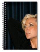 Blond Woman Spiral Notebook