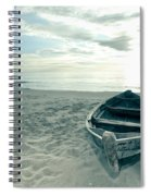 Boat Spiral Notebook