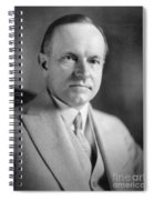 Calvin Coolidge (1872-1933) Spiral Notebook