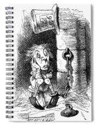 Carroll: Looking Glass Spiral Notebook