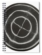 Chladni Oscillations On Metal Plate Spiral Notebook