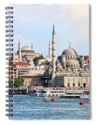 City Of Istanbul Spiral Notebook