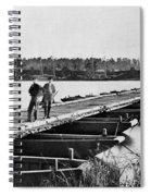 Civil War: Pontoon Bridge Spiral Notebook