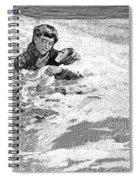Dakota Blizzard, 1888 Spiral Notebook