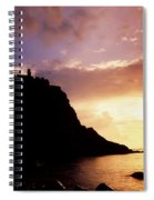 Dunluce Castle, Co Antrim, Ireland Spiral Notebook